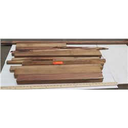 Various Lengths Raw/Unsanded Natural Wood