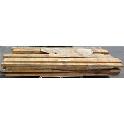 "Pallet of 3x4s, 3x6s Natural Wood, Various Lengths (longest pieces approx. 103"", most are 7"" w, 2"" T"