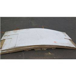 Sheets of Pegboard, Various Sizes, Approx 10pcs