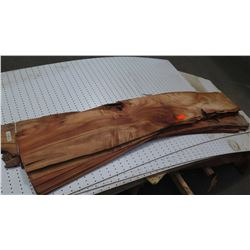 Thin Sheets of Natural Koa Wood