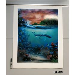 """Destiny"" by David Miller, Offset Lithograph, 27 X 34-3/4, $375 Retail, Signed and Numbered"
