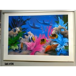 "Qty 3 ""Vivid Splendor"" by David Miller, Paper, 27 X 38  Signed/Numbered (9-11 of 650)"
