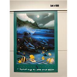 "Qty 5 ""Hanalei Bay"" by Wyland, Paper, 18 1/2 X 26"