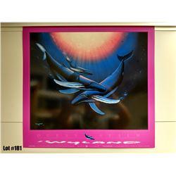 "Qty 5 ""Ocean Realm"" by Wyland, Paper, 21-1/4 X 23"