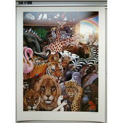 """Qty 2 """"The Great Adventure"""" by Margaret Keane, Paper Giclee, 37 X 28 Signed/Numbered (135 & 136 of 3"""