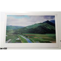 """""""Hanalei"""" by Gary Reed, Off-Set Lithograph, Ltd. Ed. 320 of 500, Retail $200, Signed and numbered,"""
