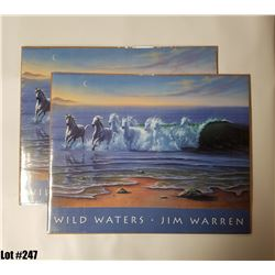 """Wild Waters"" by Jim Warren, Paper, 20 x 16"