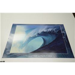 "Qty 5 ""Hawaii 5-0"" by Hank Fotos, Paper, 36 x 24"