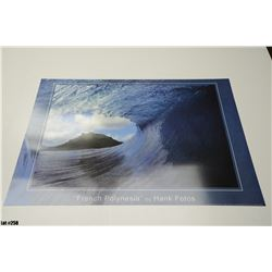 "Qty 4 ""French Polynesia"" by Hank Fotos, Paper, 36 x 24"