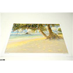 "Qty 5 ""Mokoli'i Island"" by Russell Lowery, Paper, 32-1/4 x 23-1/2"
