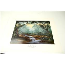 "Qty 4 ""Morning Splendor"" by Sharleen Turner, Paper, Ltd. Ed. 1121, 1127, 1130, 1131 of  2000, Signed"