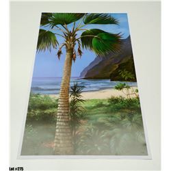 """""""Pacific Palm"""" by Rudy Gonzalez, Paper, 21 X 33"""