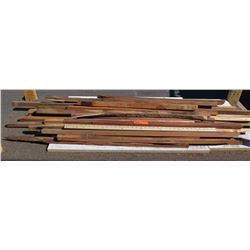Various Lengths Natural Wood (Some w/ Bark)