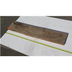 "Natural Wood Plank - Approx. 56"" Dark Wood"