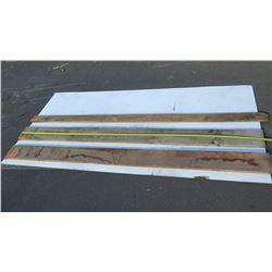 Various Lengths Natural Wood Planks 3pcs