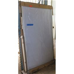 Sliding Doors, 2pcs, White Frame, New in Box