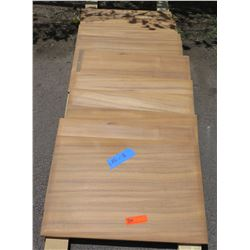 "Qty 11 Koa Veneer Panels, Prefinished, (18""x26"")"