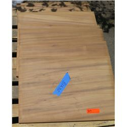 "Qty 6 Koa Veneer Panels, Prefinished, (18""x26"")"