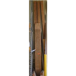 Various Lengths of Dimensional Lumber, Plank & 2x4s (3pcs)