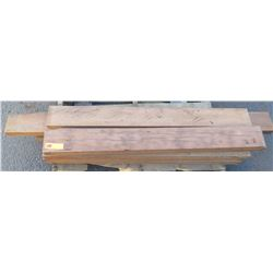 Aprox. 9 pcs Dimensional Natural Hardwood, Various Lengths, Unfinished, 2x6s, etc.
