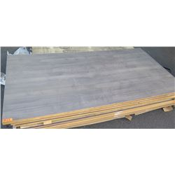 "Qty 5 Hudson (Lt. Gray) Melamine Plywood Sheets 3/4"" (4' x 8')"