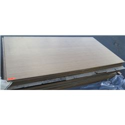 "Qty 6 Bamboo Veneer Plywood Sheets 3/4"" (4' x 8'), Unfinished"
