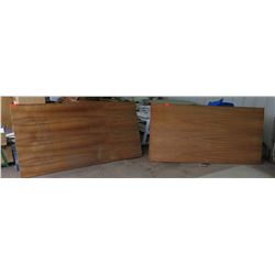 "Qty 2 Koa Veneer, Plywood Sheets 3/4"" (4' x 8'), $1000 Value"