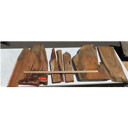 Koa Wood Bundle, Various Grades, Quality, Sizes, 7 pcs