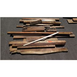 Koa Wood Bundle, Various Grades, Quality, Sizes, (Approx 1-5 ft), Approx. 21 pcs