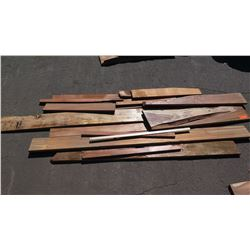 Koa Wood Bundle, Various Grades, Quality, Sizes, (Approx 3-6 ft), Approx. 15 pcs