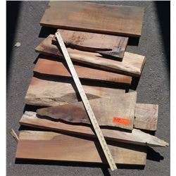 Koa Wood Bundle, Various Grades, Quality, Sizes, (Approx 1.5-2 ft), Approx. 9 pcs