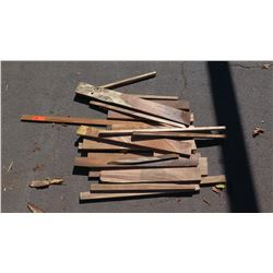Mixed Hardwood Bundle: Koa/African Mahogany, Various Sizes, (Approx 2-4 ft), Approx. 23 pcs