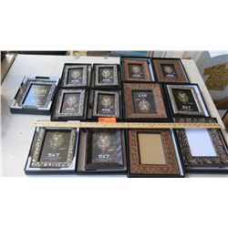 "DM Dzigns Picture Frames 5""x7"" 7pcs and 4""x6"" 6pcs"