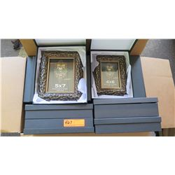 "DM Dzigns Picture Frames 5""x7"" and 4""x6"" 2pcs"