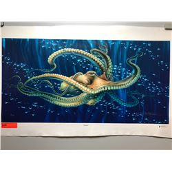 """Seeker"" by Dennis Matthewson, Ltd. Ed. 15 of 350, Canvas Giclee 36"" x 18"""