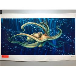 """Seeker"" by Dennis Matthewson, Ltd. Ed. 17 of 350, Canvas Giclee 36"" x 18"""