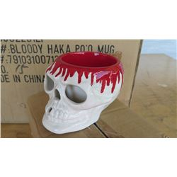 1 Box of Bloody Haka Po'o Mugs (16 per box)
