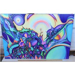 Psychedelic Art by Blaise Domino, Giclee, Stretched Canvas 36X54
