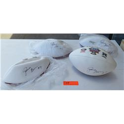 Autographed Sugar Bowl Footballs - Davone Bess (Qty 4)