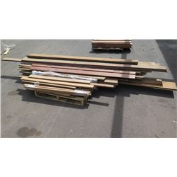 Large Lot of Mixed Natural Hardwood - Koa, African Mahogany, Monkeypod, Varying Lengths/Sizes