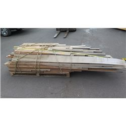 Pallet of Mostly Big Island Hardwood - Mango, Toon, Robusta, etc., Varying Lengths/Sizes