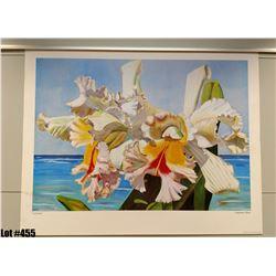"""Cattleya"" by Fabienne Blanc, Paper, 16"" x 24"" (qty 5)"