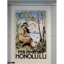 """Mid-Pac Carnival 1915"" Nostalgia, Paper, 24"" x 36"" (qty 5)"