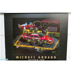 """Nasbar 500"" by Michael Godard, Paper, 30 x 24 (qty 5)"