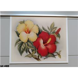 """Hibiscus"" by Eve Hawaii, Paper, 19"" x 15-3/4"" (qty 5)"