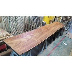 "Massive Natural Koa Wood Slab, Over $15K Value - Extremely Rare, Approx. 156""L, 34""W, 3"" Thick, Harv"