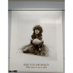 """Nau Mai a Na'u Aku"" by Kim Taylor Reece, Paper, 20"" x 24"" (qty 5)"