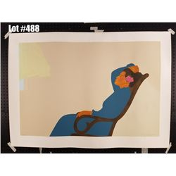 """Hana Morning"" by Pegge Hopper, Serigraph, 289 of 300, Retail $1500, Ltd. Ed, Signed & Numbered, 50"""