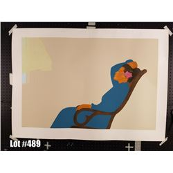 """Hana Morning"" by Pegge Hopper, Serigraph, 288 of 300, Retail $1500, Ltd. Ed, Signed & Numbered, 50"""