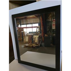 Dark Framed Mirror 30 x 36